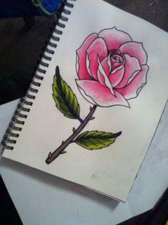 Boceto rosa // Rose sketch