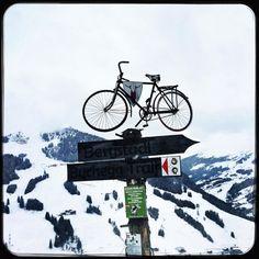 Bike season is over. Bring on pow pow! #soultravels #outdoorgirl #adventuregirl #mindful #munichandthemountains