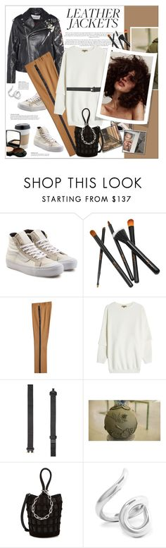 """#leatherjackets"" by stylemeup-649 ❤ liked on Polyvore featuring Vans, Etro, adidas Originals, Alyx, Alexander Wang, OUTRAGE and Jennifer Fisher"