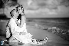 TRASH THE DRESS!! Ive always dreamed of having a beach wedding and taking pictures just like these <3