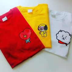 Playeras BT21 - #BT21 #Playeras Kpop Outfits, Korean Outfits, Cute Outfits, Fashion Outfits, Rock Outfits, Hipster Outfits, Punk Fashion, Bts Bag, Bts Clothing