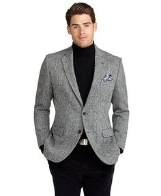 grey sports coat black pants | Wedding Ideas | Pinterest | Coats ...