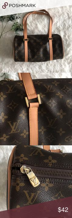 Designer Look Alike Brown Purse Don't be fooled- just a look alike, fun for date nights on a budget Around // size 11.5 X 5.5 Bags Mini Bags