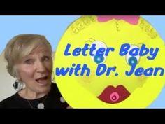 Letter Baby with Dr Jean Preschool Phonics, Preschool Music, Kindergarten Learning, Preschool Crafts, Abc Songs, Alphabet Songs, Kids Songs, Abc Activities, Toddler Learning Activities