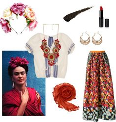 ICONIC HALLOWEEN: EASY DIY COSTUMES Frida Kahlo More