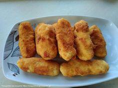 Συνταγή Πατατοκροκέτες με ζαμπόν & τυρί