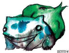 Bulbasaur- I am a leaf on the wind.