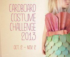 Cardboard Costume Challenge LOVE!!!