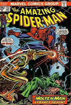 The Amazing Spider-Man #132 - The Master Plan of the Molten Man