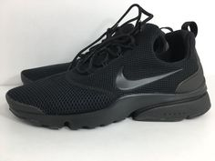 brand new 06118 379aa Nike Women s Size 9 Presto Fly Black Running Athletic Shoes 910569 001    eBay Nike Presto