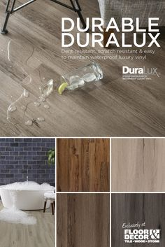 DuraLux waterproof luxury vinyl is your all-in-one solution for scratch resistant & dent resistant flooring.