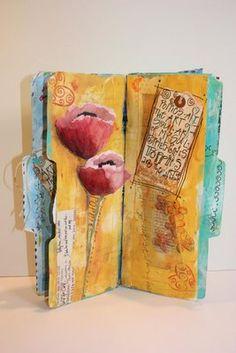 Art du Jour by Martha Lever: Donna Downey $5 Journal