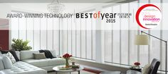 Kudos to Hunter Douglas for being a 2015 Design Innovation Award Winner!