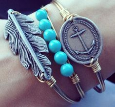 Luca and Stella bracelets are perfect year-round accessories!