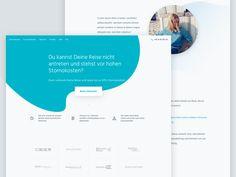 Design Landing Page by Pascal Gärtner #Design Popular #Dribbble #shots