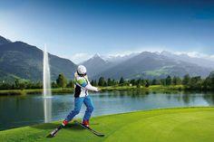 Außergewöhnliche Weltmeisterschaft: Ski & Golf World Championship in Zell am See-Kaprun Zell Am See, Salzburg, Austria, Golf, Mountains, Nature, Travel, Kaprun, World Championship