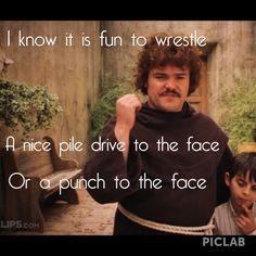 Nacho libre funny quotes