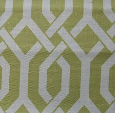 Cotton Geometric color Chartreuse by reneesfabrics on Etsy, $24.50  KITCHEN CURTAINS?