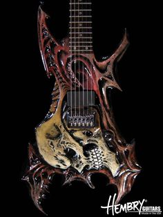 guitars crazy bodies | HEMBRY GUITARS made in the usa
