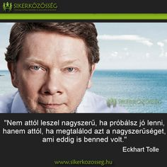 Eckhart Tolle Eckhart Tolle