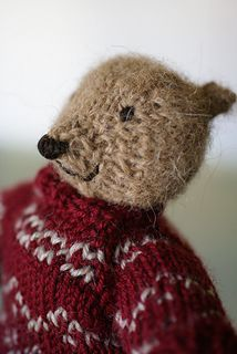Ravelry: Pattoz, the knitted bear pattern by Annalisa Dione Bear Toy, Softies, Free Knitting, Free Pattern, Knit Crochet, Crochet Patterns, How To Make, Sweaters, Teddy Bears