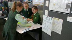 Collaborating on a task for Science Week