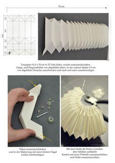 Make Origami origami lamp Origami Design, Instruções Origami, Origami Lampshade, Geometric Origami, Kids Origami, Origami And Kirigami, Origami Ball, Origami Butterfly, Paper Crafts Origami