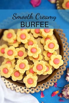 This Smooth Creamy Burfee is absolutely decadent and heavenly. Eggless Recipes, Halal Recipes, Indian Food Recipes, Indian Desserts, Indian Sweets, Easy Desserts, Burfi Recipe, Cooking Cream, One Pot Dishes