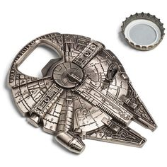 Millennium Falcon Bottle Opener. for the Star Wars geek in your life.