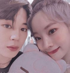 edits are not belong to me. Kpop Couples, Cute Couples, Bts Twice, Twice Dahyun, Bts Jimin, Photo Book, Got7, Kpop Girls, Dream Catcher