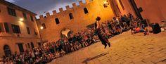 Smartphones off, DREAMS ON!  Certaldo, Tuscany - Mercantia July 15th-19th 2015 www.hotelcertaldo.it