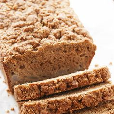 What to do with those overripe pears on your counter? Make an easy pear bread from them! Great for breakfast, snacks, and freezes well.
