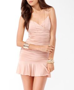 Ruched Bodycon Dress (Maple). Forever 21. $27.80