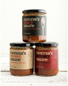 NONNA'S SAUCE. Nonna's terrific sauce is inspired by the spirit and traditions of Calabria, Italy and handcrafted in Brooklyn. The Sweet, Spicy and Smoky varieties are made with chunky New Jersey tomatoes and other locally ingredients, are all vegan, gluten/dairy/nut free, low sodium and have NO additives or GMO's. $9.00