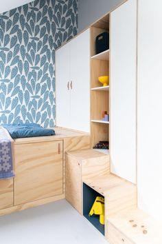 Femkeido | Kinderkamers – Tilburg Garage Remodel, Kidsroom, Interior Design, Storage, Furniture, Home Decor, Interiors, Girls, Houses