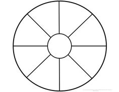 Wheel Templates (Memory Wheels) | Wheels, Template and School counseling