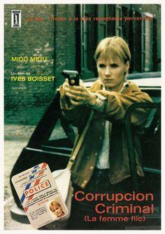 """Corrupción criminal (1980) """"La femme flic"""" de Yves Boisset - tt0079145"""