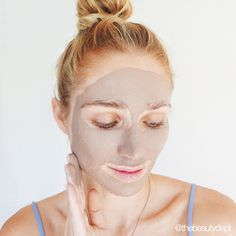Our At-Home Facial Series begins with this brilliant secret way to amp up your mud mask with a product you already have in your bathroom cabinet! Check out this game changer for smooth and tight happy skin on thebeautydepartment.com!