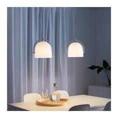 SVIRVEL Loftlampe, hvid - hvid
