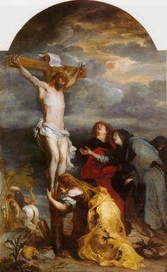 Anthony van Dyck - The Crucifixion of Christ c. 1630-1632, Musée des Beaux-Arts, Lille Source