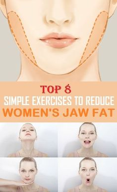 Lose fat on face and neck