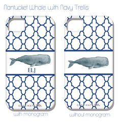 Whale iPhone Cover by @Shorely Chic on Etsy.