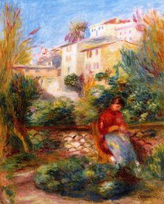 Auguste Renoir - La Terrasse à Cagnes