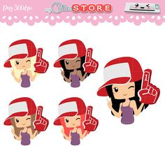Chibi Go sport Clipart Girl with a sport hand Clip art PNG
