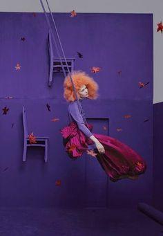 """Dreamland"" Harper's Bazaar China May 2014"