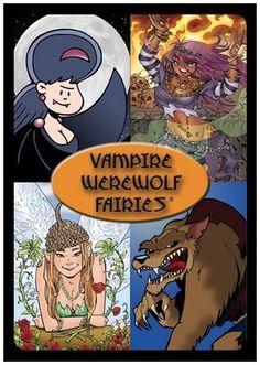 #YoYoBirthday Gozer Games Vampire Werewolf Fairies - Free Shipping