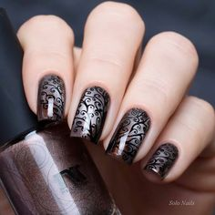 "Masura ""Дымчатый Раухтопаз"" & stamping MoYou London Mother Nature Collection 11."
