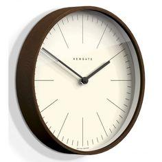 Newgate Clocks Mr Clarke Dark Wood 53cm Wall Clock
