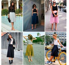 mid skirt / spring trend