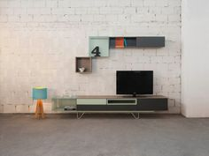 The Vintme Modular System includes modules of different sizes that can be arranged at leisure to create your own composition. cm l x w x 21 cm h Please allow weeks for shipping. Multifunctional Furniture, Modular Furniture, Diy Furniture, Furniture Design, Glass Extension, Bookcase Shelves, Display Homes, Modern House Design, Chair Design